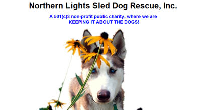 Northern Lights Sled Dog Rescue